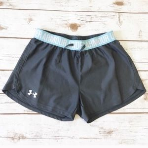 Under Armour Gray Gym Athletic Shorts